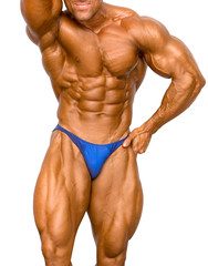 bodybuilder isolated