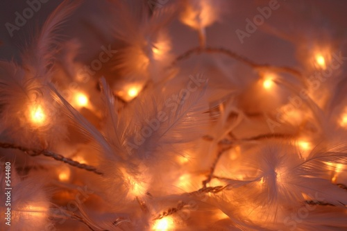 christmas feather lights