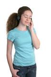 teen tunes & t-shirt poster