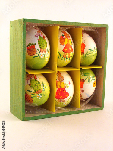 easter egg box