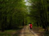 woman jogging poster