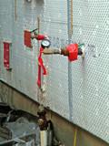 plumbing, pressure check poster