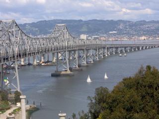 cantilever span bay bridge