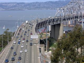 cantilever span of san francisco bay bridge