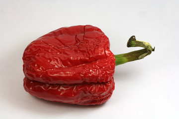 shrunken pepper