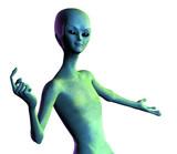 alien welcome poster