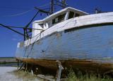 damaged boat poster