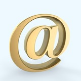 email symbol poster