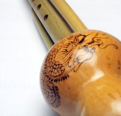 hulusi. musical instrument huluxiao