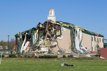 church destroyed  tn