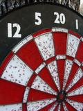 dart board poster