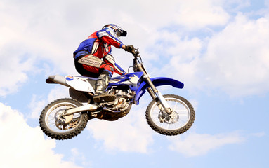 motocross in the sky