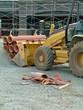 construction, clay pipe, terra cotta