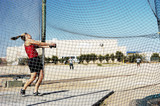 hammer throw 2 poster