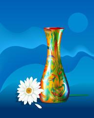 vase-herbera