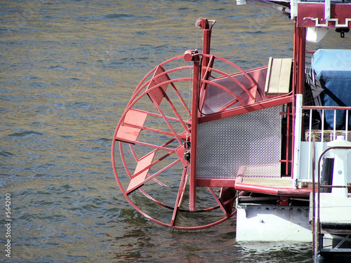 boat on wheel