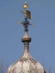 weather vane on the tower of london