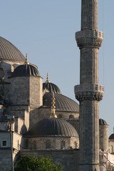 domes on the blue mosque