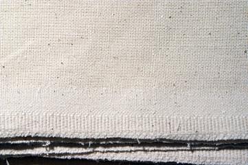 dirty white coarse calico