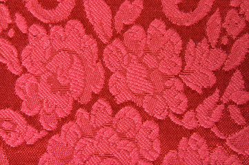 upholstery red fabric