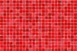 red tiles - mosaic