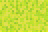 yellow tiles - mosaic poster