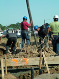 cement pumper, man working, men poster