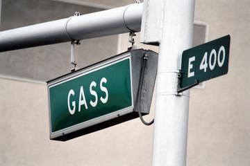 streetsign: gass