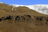 icelandic mountain poster