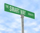 the smart way poster