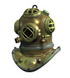 antique scuba helmet