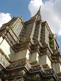 stupa - grand palace - bangkok poster