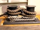 mooring rope poster