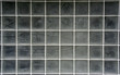 glass grid wall