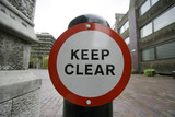 keep clear poster