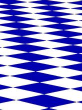 niebieska szachownica