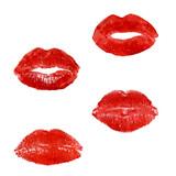 print of lipstick poster