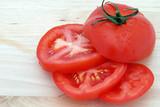 tomato slices horizontal poster