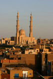 grande mosque de assouan poster