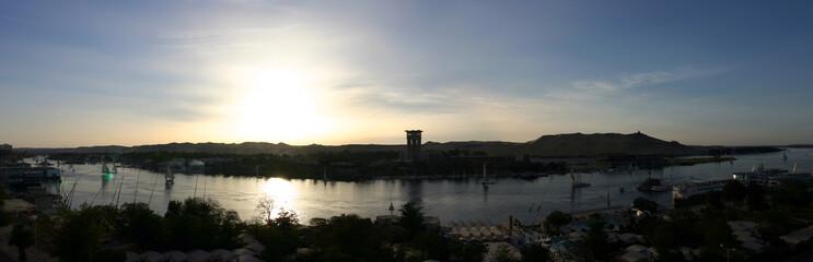 vue panoramique de assouan