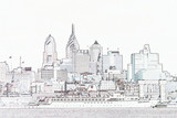philadelphia sketch poster
