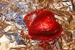 gold, herz, schokolade,