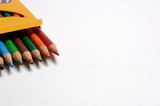 drawing pencils multicolor poster