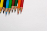 colored drawing pencils poster