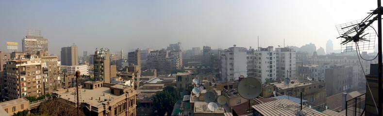 vue panoramique du caire