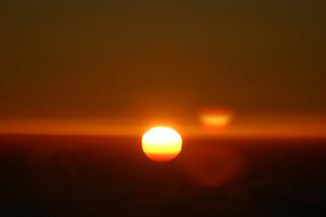 levée de soleil sur le mont sinai