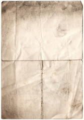 antique decayed paper (inc clipping path)