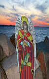st. raphael protect our waters poster