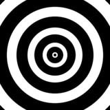 Circular target poster