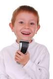 shaving boy three poster